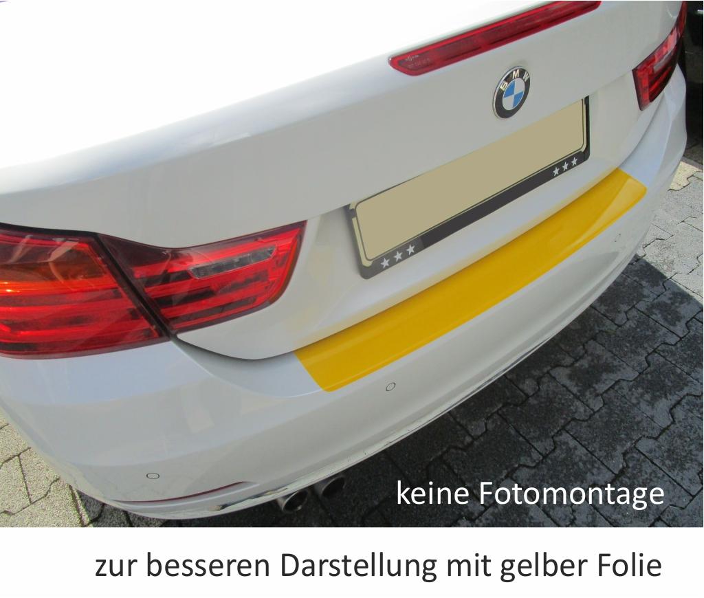 BMW 4er F32//F33 Coupe Cabrio Ladekantenschutz Lackschutzfolie Schutzfolie 10239