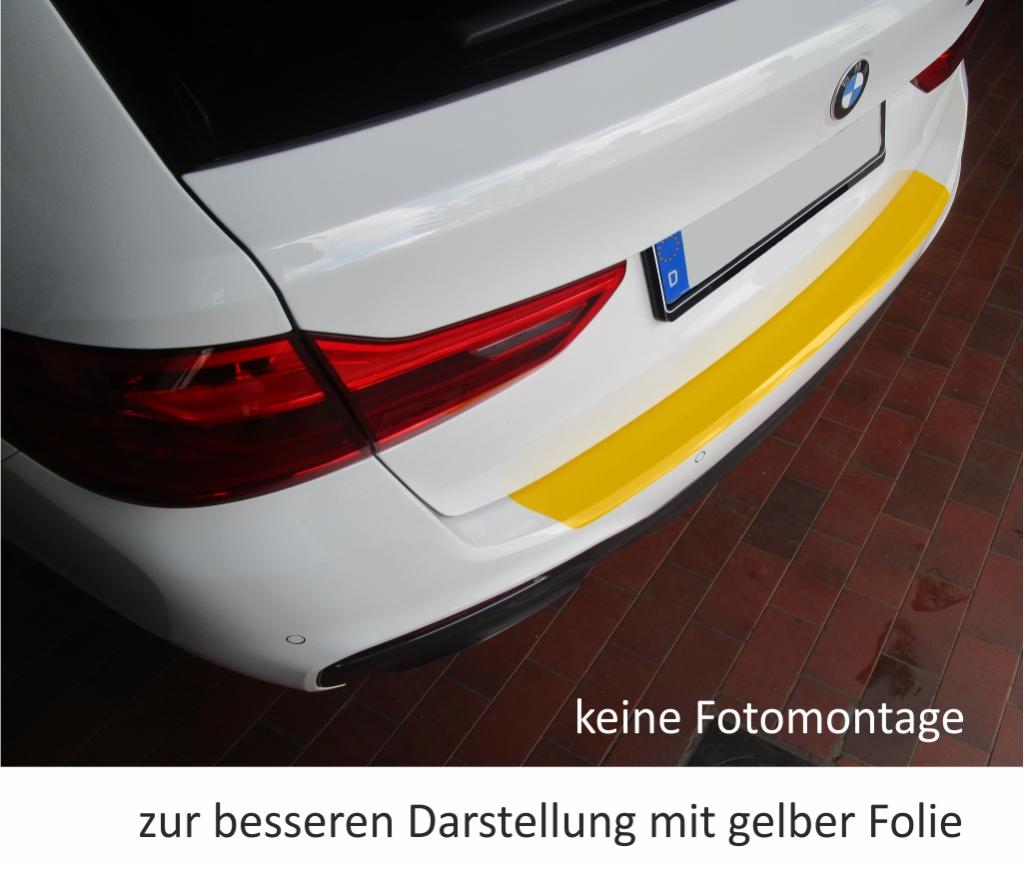 LADEKANTENSCHUTZ Lackschutzfolie für BMW 5er Touring Kombi E61 weiß glänzend