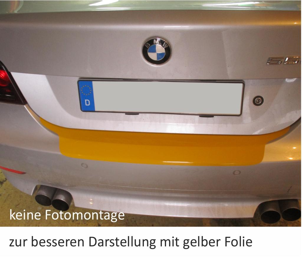 BMW 5er e61 Touring Paraurti Protezione Vernice Pellicola carbonio 3d diapositiva 10030