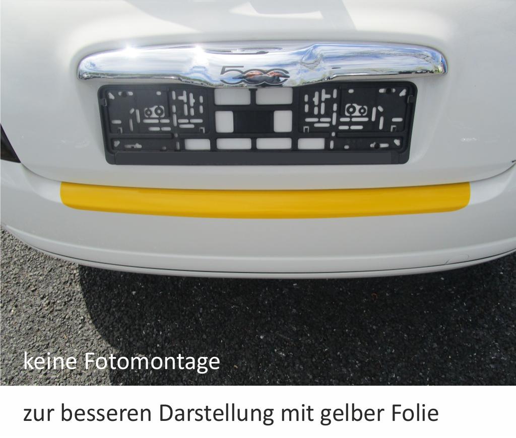 Fiat 500 500C Ladekantenschutz Folie Lackschutzfolie Schutzfolie 325µm