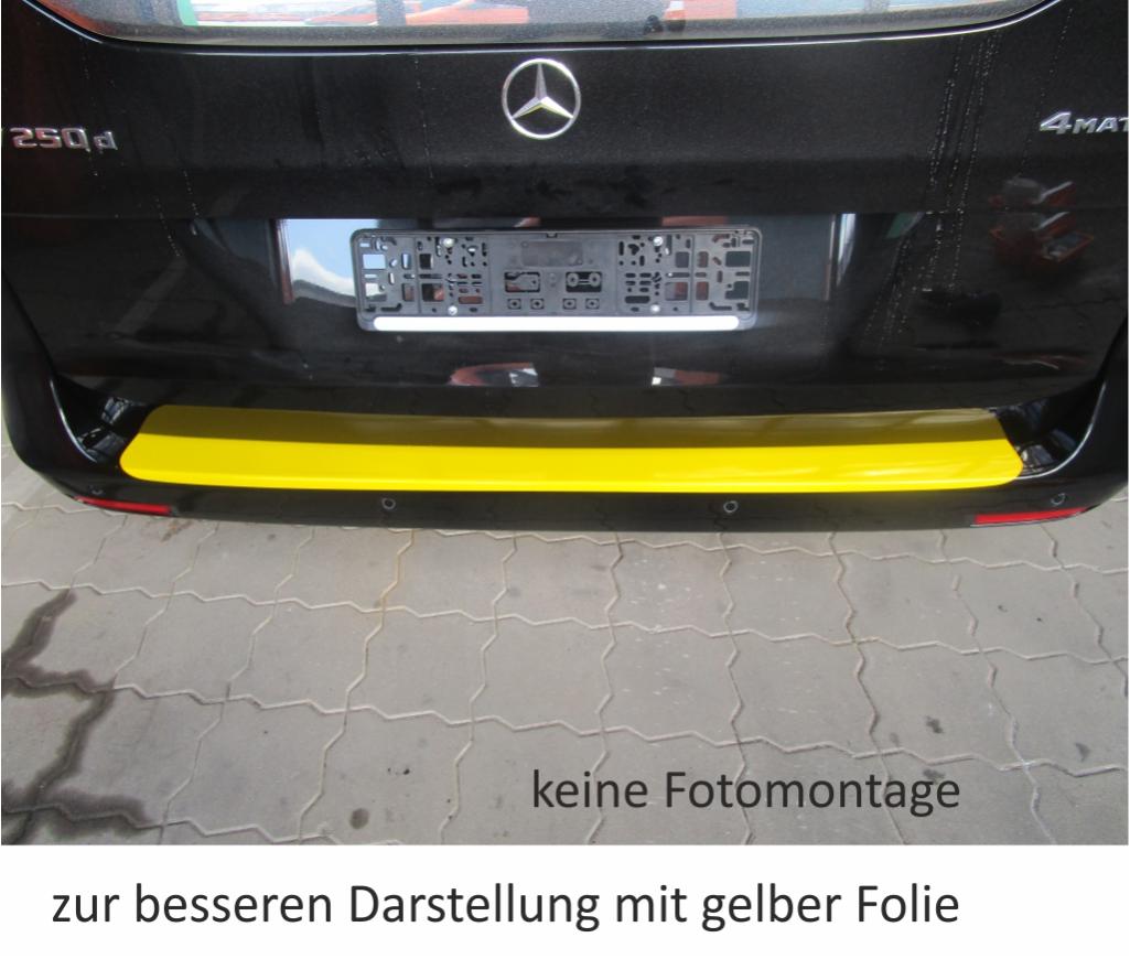 für Mercedes Benz V-Klasse VK typ 447 Ladekantenschutz Folie Lackschutzfolie