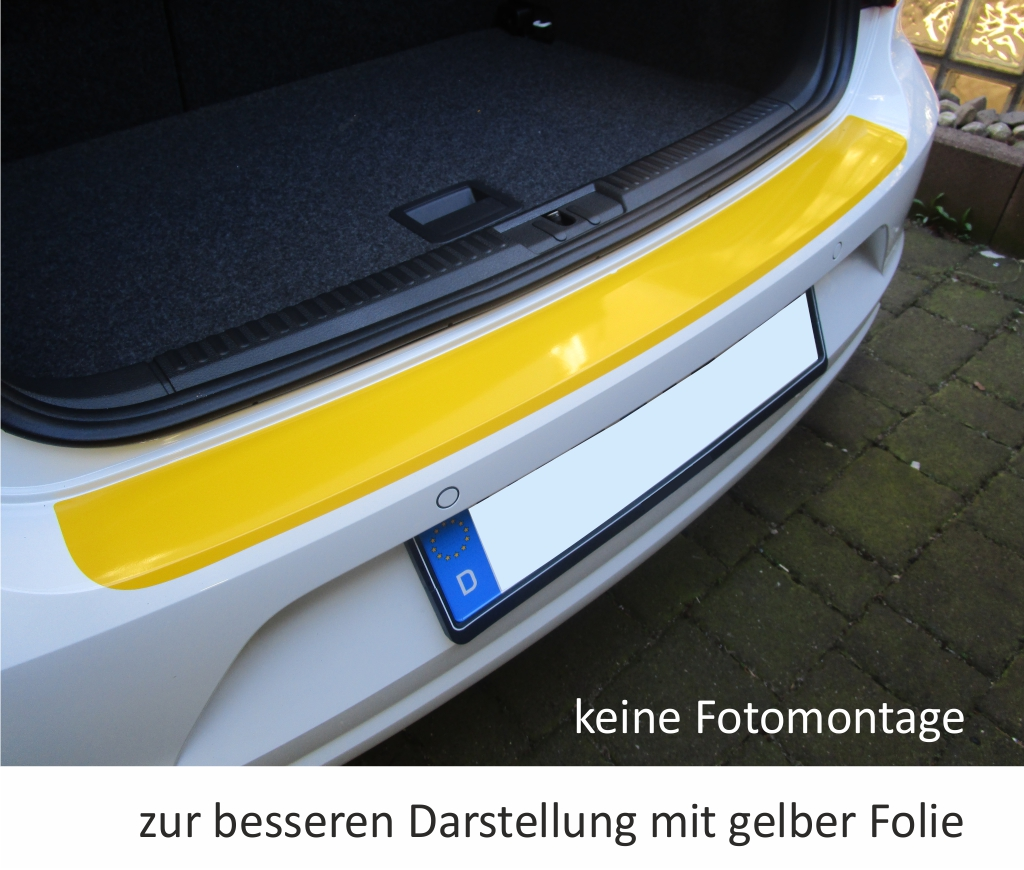 vw polo 6c from facelift 2014 loading area protector film. Black Bedroom Furniture Sets. Home Design Ideas