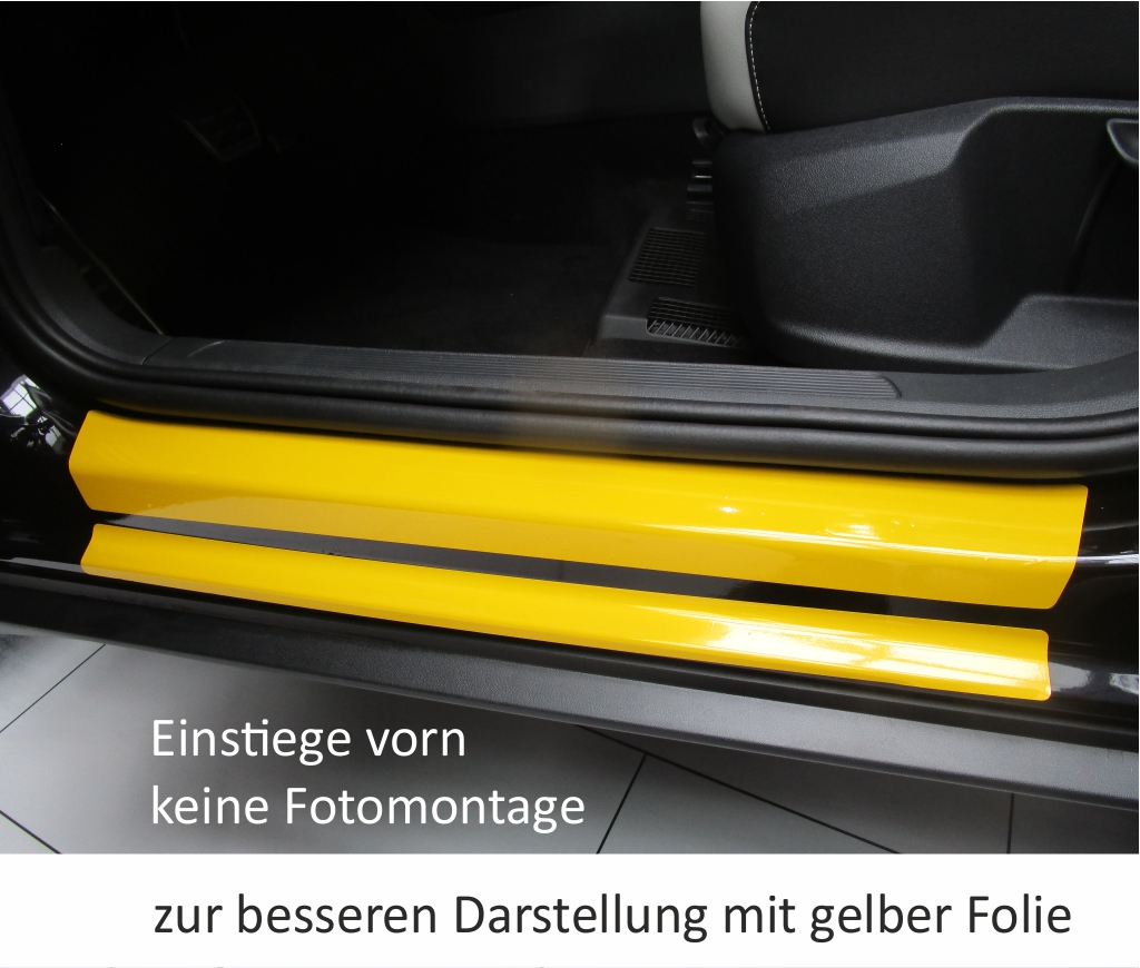 vw t roc troc t r einstiege schweller auto schutz. Black Bedroom Furniture Sets. Home Design Ideas