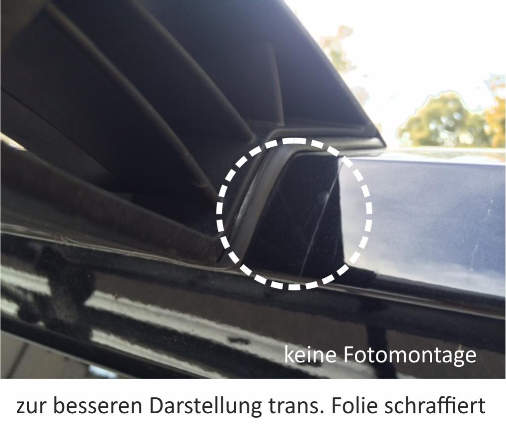 2x Schutzfolie Sparset Fahrradträger Radträger Heckträger VW Bus Bully T5 Set