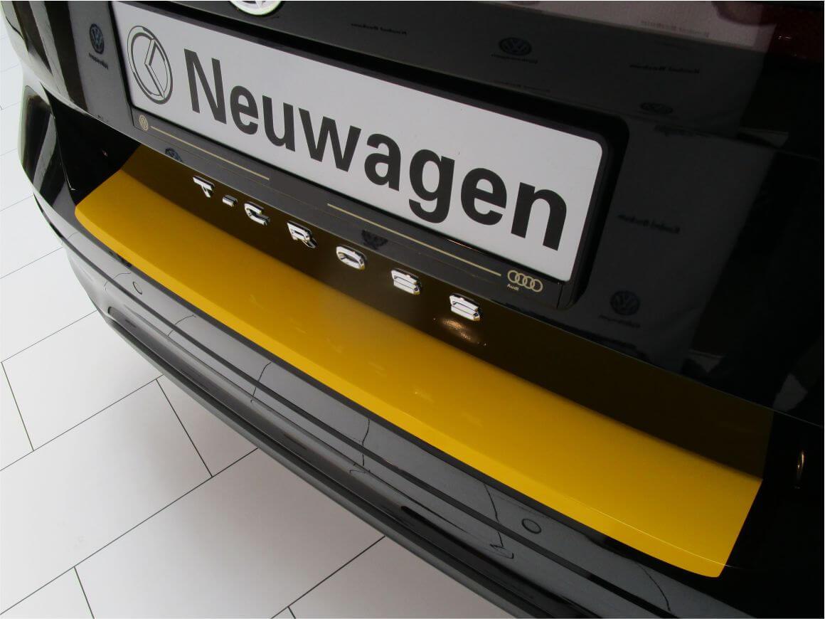 5C LADEKANTENSCHUTZ Lackschutzfolie für VW BEETLE 21st ab 2011 weiß glänzend