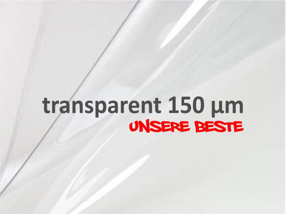 transparent Lackschutzfolie Folie universal für alle Fahrzeuge 150 x 20 cm